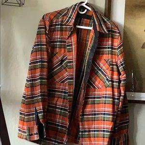 Other - Unique flannel shirt